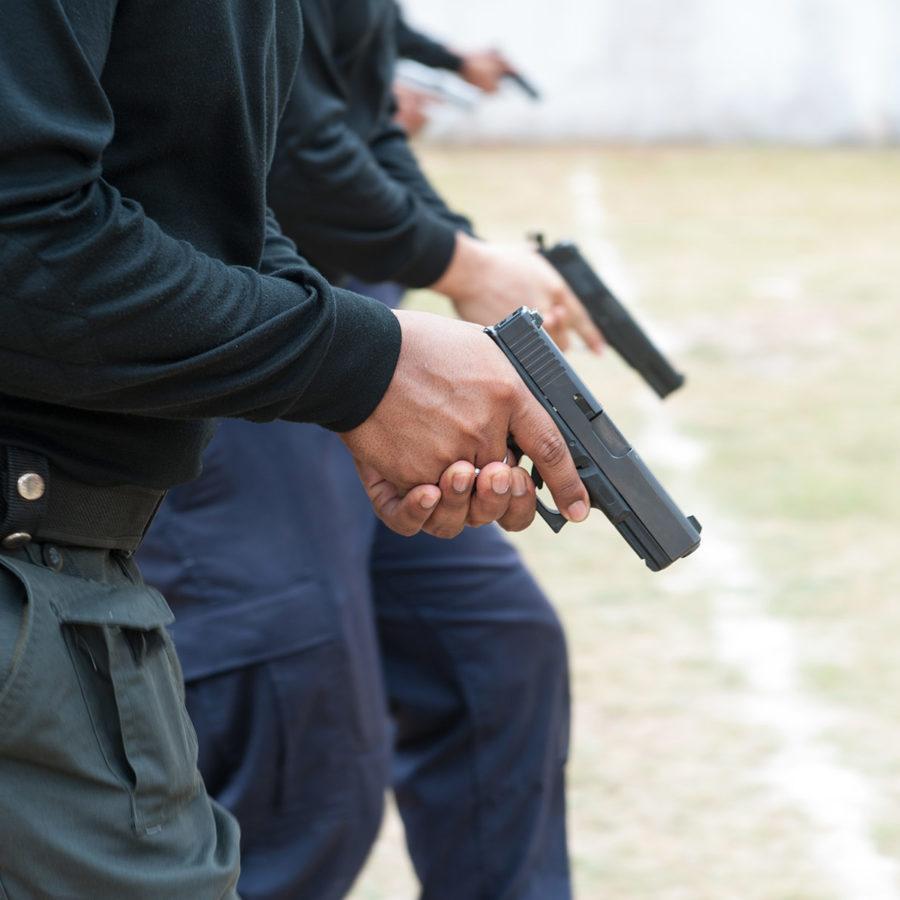 Corso di tiro base difensivo